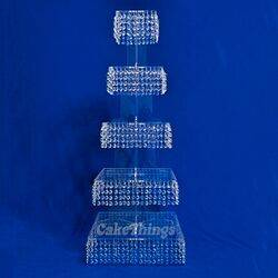 bling 5 tier cupcake stand